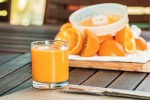 succo di arancio